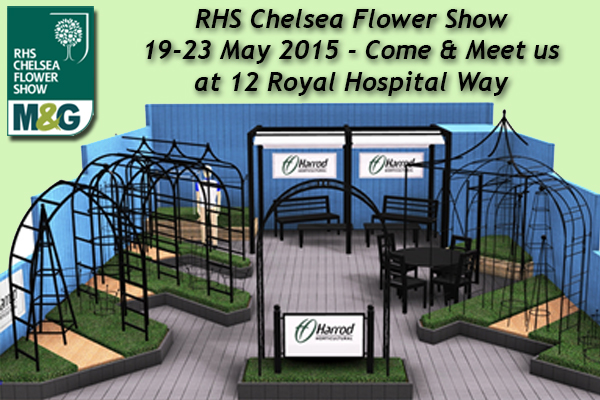 Meet us at Chelsea Flower Show!