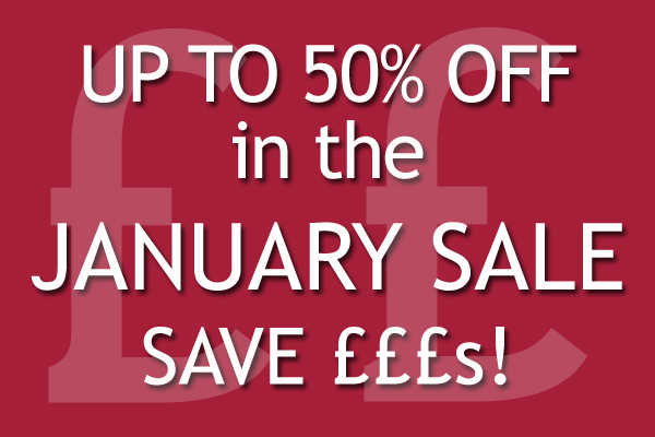 Harrod Horticultural January Sale - check it out now!